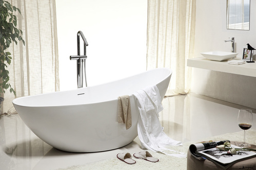 Акриловая ванна ABBER 184*79*77