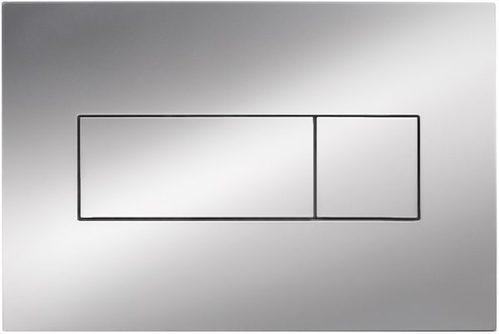 Инсталляция Deante для подвесного унитаза, кнопка хром
