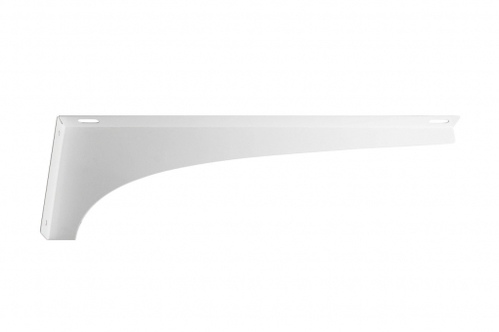 Кронштейн для раковины Даллас № 1 боковой, металл, белый, правый, ФР-00001852
