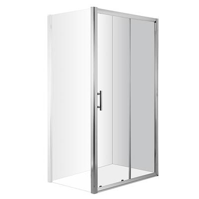 Двери для ниши раздвижные Deante Cynia, стекло прозрачное