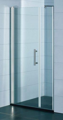 Распашные двери в нишу Deante Moon, стекло прозрачное