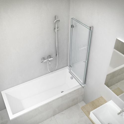 Ванна акриловая Roltechnik Kubic NEO Slim