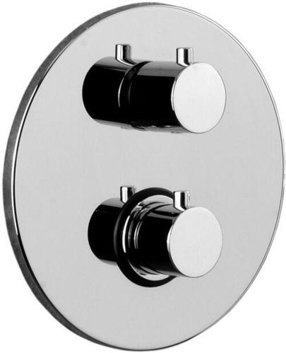 Душевая система для ванны скрытый монтаж с термостатом  Paffoni Light, хром