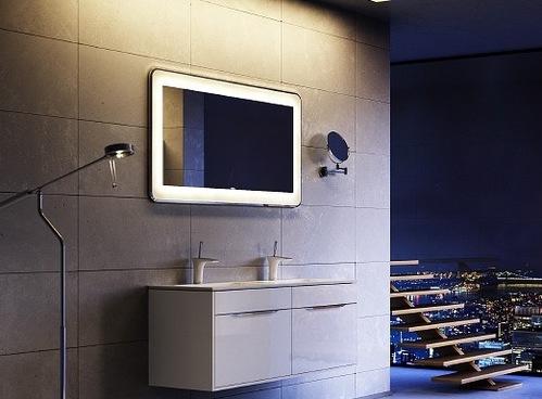 """""""Malaga""""панель с зеркалом и подсветкой 90см"""