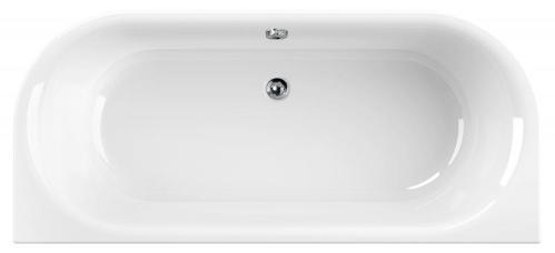 Акриловая ванна Cezares METAURO Wall 180x80