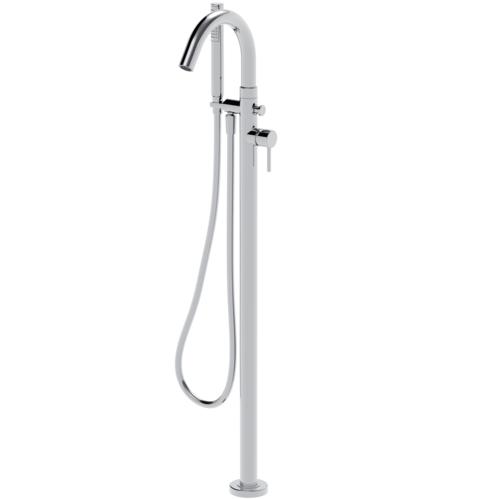 Смеситель для ванны La Torre Newtech 12044 PAV CR с ручным душем и шлангом