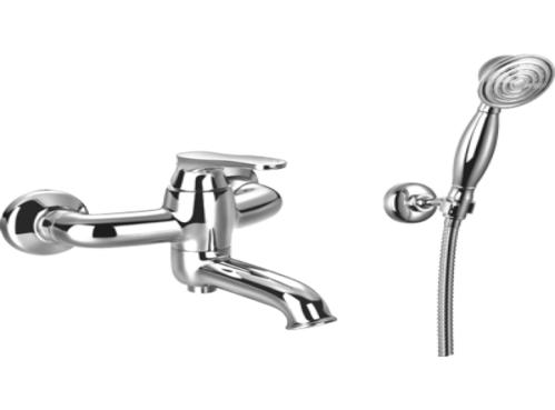 Смеситель для ванны Omnires Art Deco с ручным душем