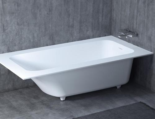 Встраиваемая ванна Salini ORLANDO VASTA KIT 190х100, с экраном