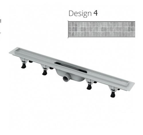ТРАП DESIGN 4 с решеткой под плитку