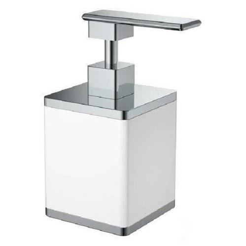Boheme Q диспенсер для жидкого мыла настольный, белый/хром