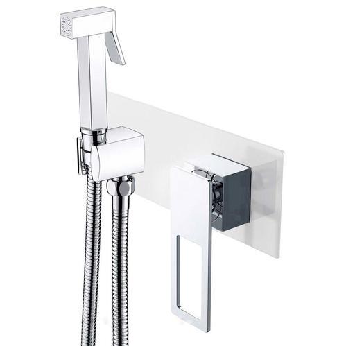 Гигиенический душ Boheme Q со смесителем, белый/хром