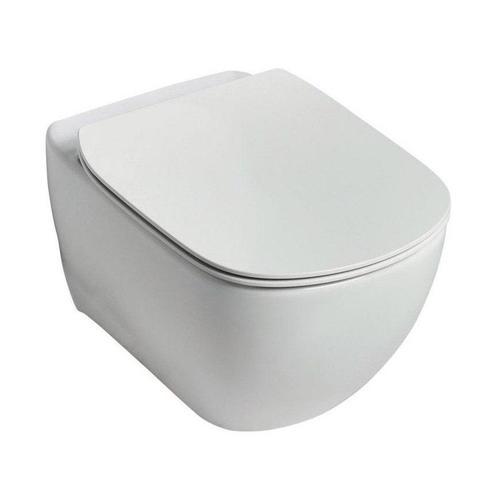 Унитаз Ideal Standard Tesi Rimless, сиденье с микролифтом в комплекте