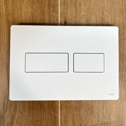 Клавиша смыва TECE Solid с двойной системой смыва, белый матовый