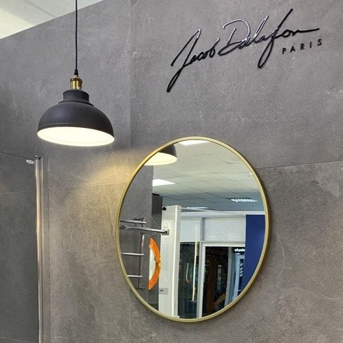 Зеркало с рамкой (Золотая) Jacob Delafon Odeon Rive Gauche
