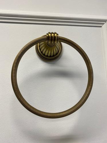 Держатель для полотенца (кругл.) Hermitage Bronze