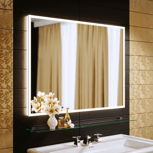Зеркало Alavann Bella 100x80, с подсветкой