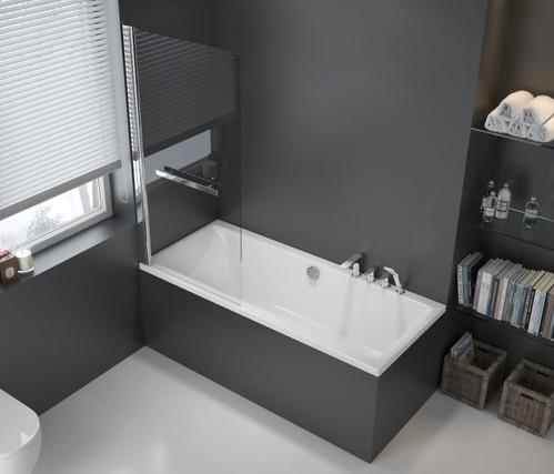 Акриловая ванна Excellent Pryzmat Lux