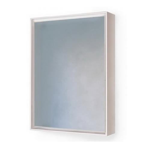 Зеркало-Шкаф с подсветкой RAVAL Frame 60 белый