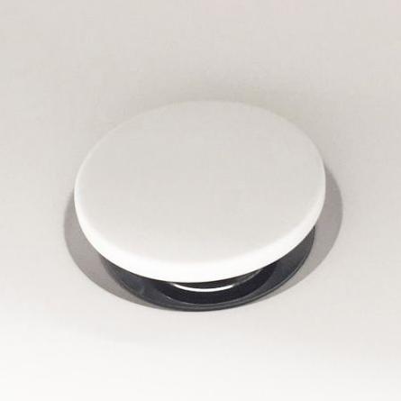 Донный клапан Holbi Click-Clack белый для умывальника