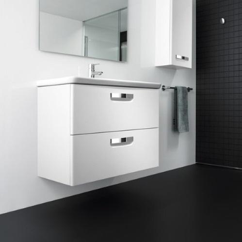 Комплект мебели тумба с умывальником Roca The Gap, 60x45 см