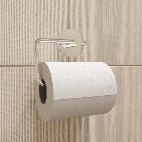 Держатель для туалетной бумаги без крышки, сплав металлов, Sena, IDDIS