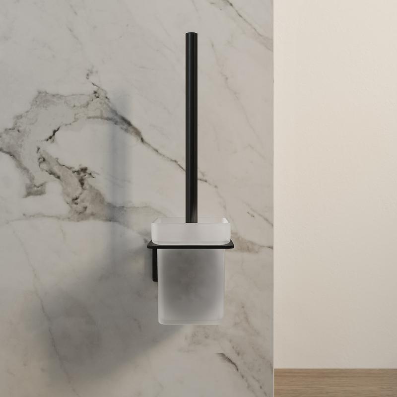 Ерш IDDIS Slide, матовое стекло, сплав металлов