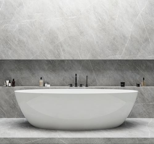 Ванна из искусственного камня Omnires Siena WW 160x80, отдельностоящая