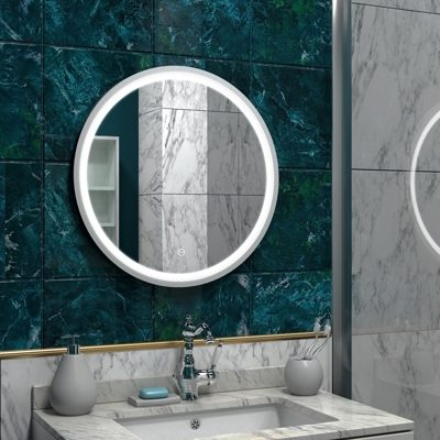 Зеркало Континент Style White LED 600x600
