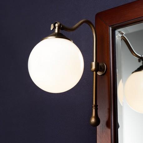 Caprigo светильник с креплением к рамке зеркала, бронза