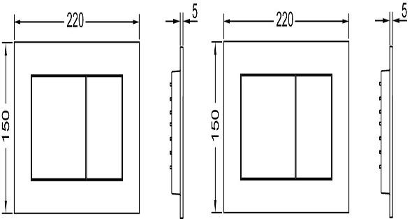 Комплект TECE base kit, 4в1 h112