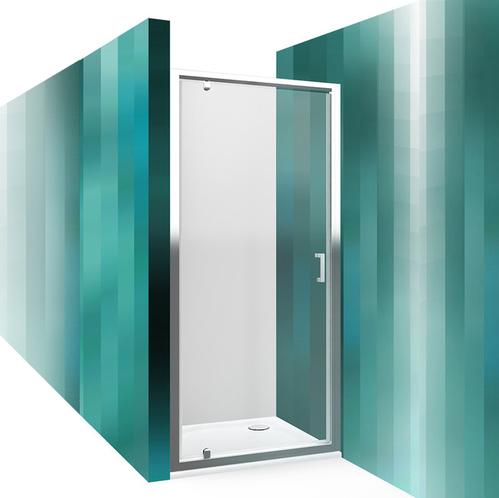 Распашная душевая дверь Roltechnik Lega Line LLDO1 прозрачная