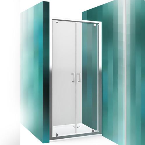 Распашные душевые дверки  Roltechnik Lega Line LLDO2 прозрачные