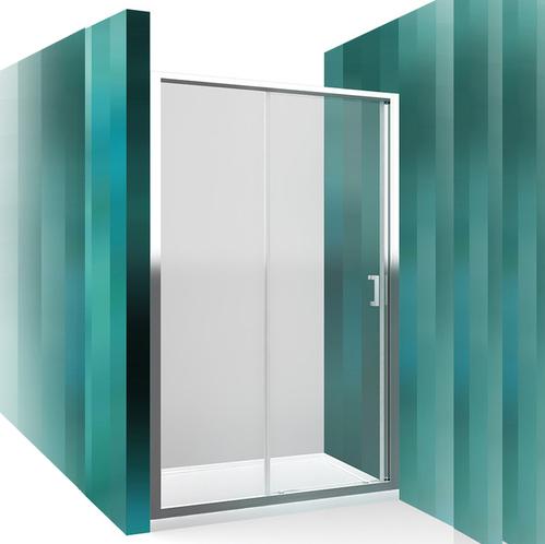 Раздвижная душевая дверь Roltechnik Lega Line LLD2 прозрачная