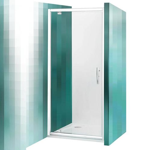 Распашная душевая дверь Roltechnik Proxima Line PXDO1N, прозрачная