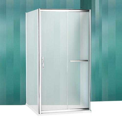 Душевой уголок Roltechnik Proxima Line PXD2N+PXBN+PXBN с раздвижной дверью, матовый