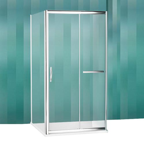 Душевой уголок Roltechnik Proxima Line PXD2N+PXBN+PXBN прозрачный с раздвижной дверью