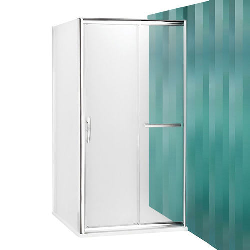 Душевой уголок Roltechnik Proxima Line PXD2N+PXBN прозрачный с раздвижной дверью