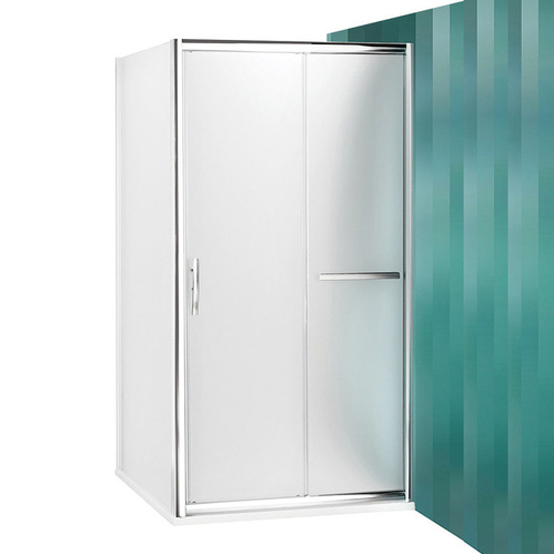 Душевой уголок Roltechnik Proxima Line PXD2N+PXBN с раздвижной дверью, матовый