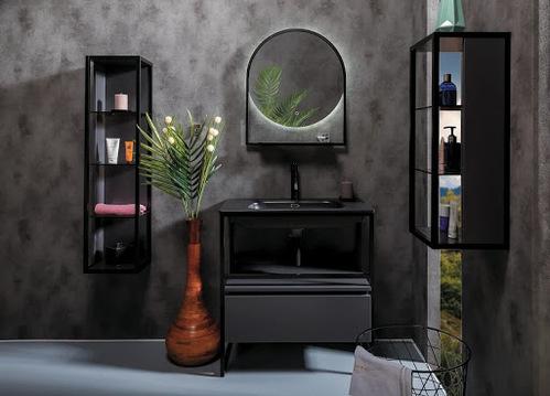 Armadi Art Loft мебель для ванной комнаты консоль+тумба 120см без раковины