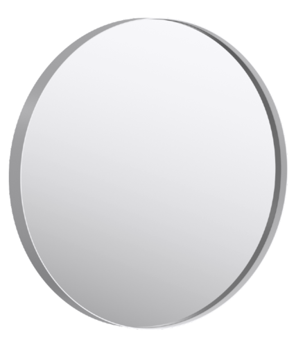 Aqwella Fargo Зеркало круглое 80/60см, цвет белый