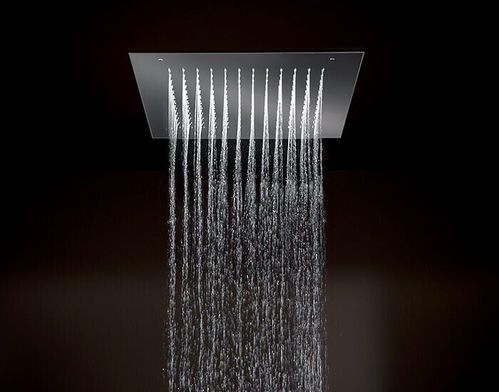 Верхний душ Paffoni Boston, хром 50х50